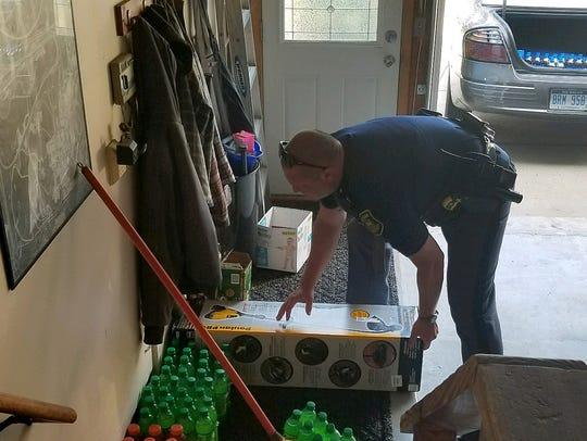 Michigan State Police Trooper Christopher McIntosh