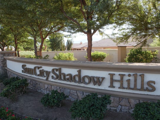 The Sun City Shadow Hills development in Indio, October