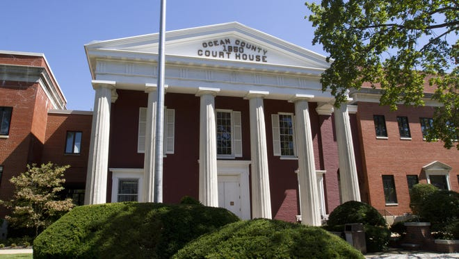 The Ocean County Courthouse in downtown Toms River.