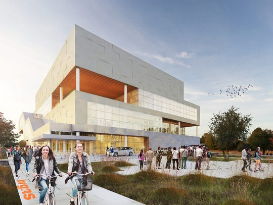 The design of the new Health Department headquarters