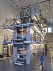 The News-Leader's printing press.