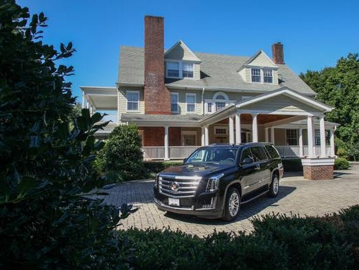 A  2015 Cadillac Escalade ESV shot Aug. 14 at 82 Buena Vista Ave. in Rumson.  This photo shoot was for a Luxury Living cover story on luxury SUVs.