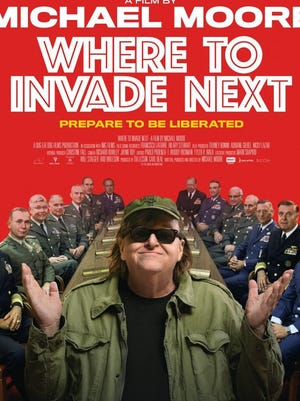 "The Salem Progressive Film Series will show Michael Moore's ""Where to Invade Next,"" 7 p.m. Tuesday, Dec. 20, at the Historic Grand Theatre, 191 High St. NE."