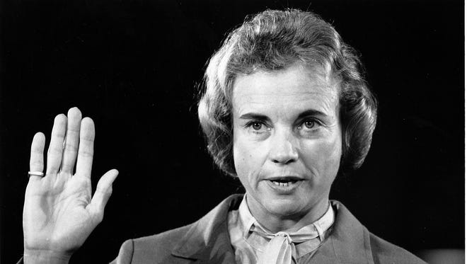 In 1981 Sandra Day O'Connor became the first woman to serve on the Supreme Court.