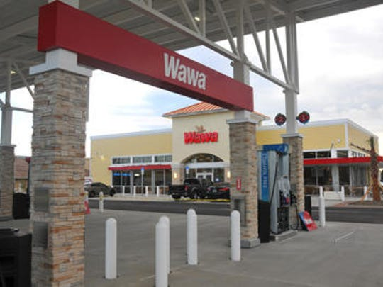 This Wawa store, at the corner of Wickham Road and Pineda Causeway in Palm Shore, will open May 19. A second Wawa will open along U.S. 192 in West Melbourne.