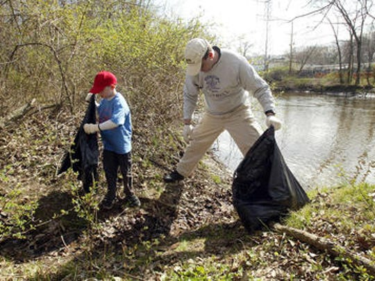 File photo of Earth Day cleanups in New Jersey