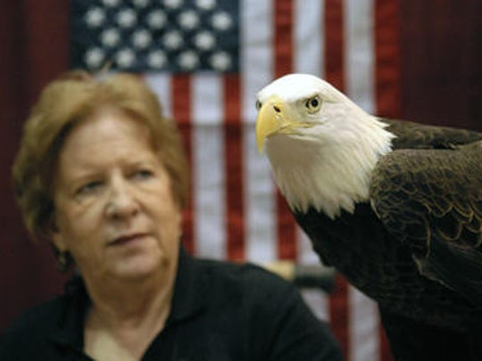 The American bald eagle has served as our country's