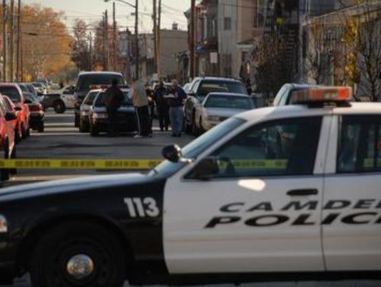Camden City police shooting