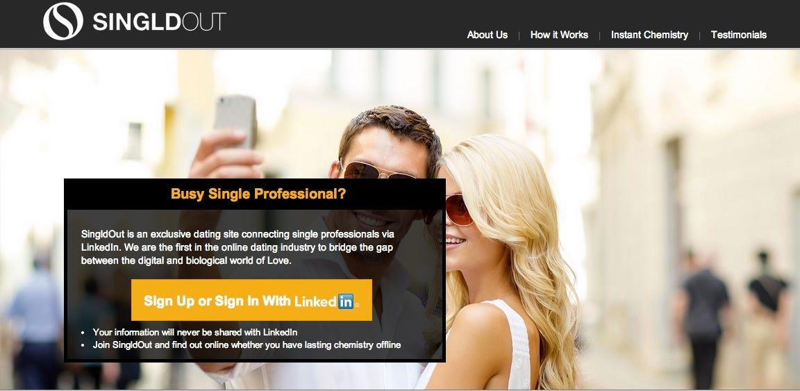 dating sites for single professionals