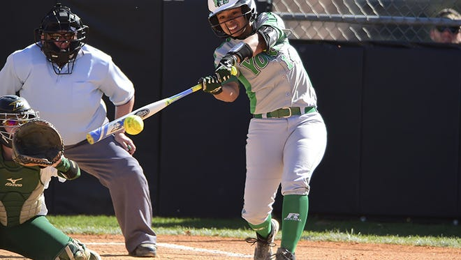 Annville-Cleona grad Haley Hirn is  in the midst of a big senior season with the York College softball team.