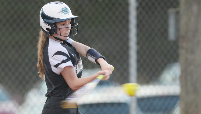 Taylor Laster is batting .344 for the North Buncombe softball team.