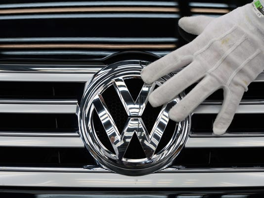 GERMANY-AUTO-VOLKSWAGEN-EARNINGS-POLLUTION