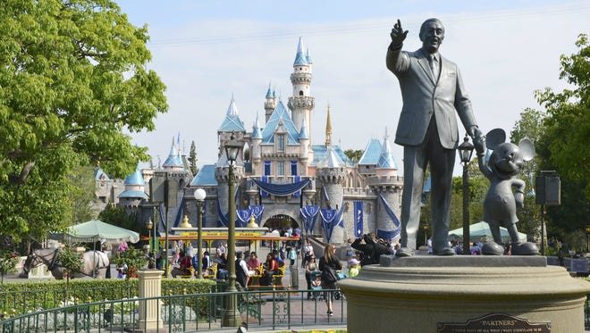 Disneyland came in at No. 7 on TripAdvisor's ranking of the best amusement parks in the USA.