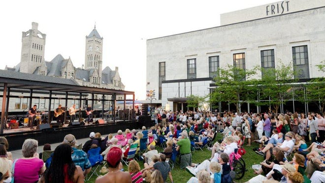 Frist Friday crowd in 2012.