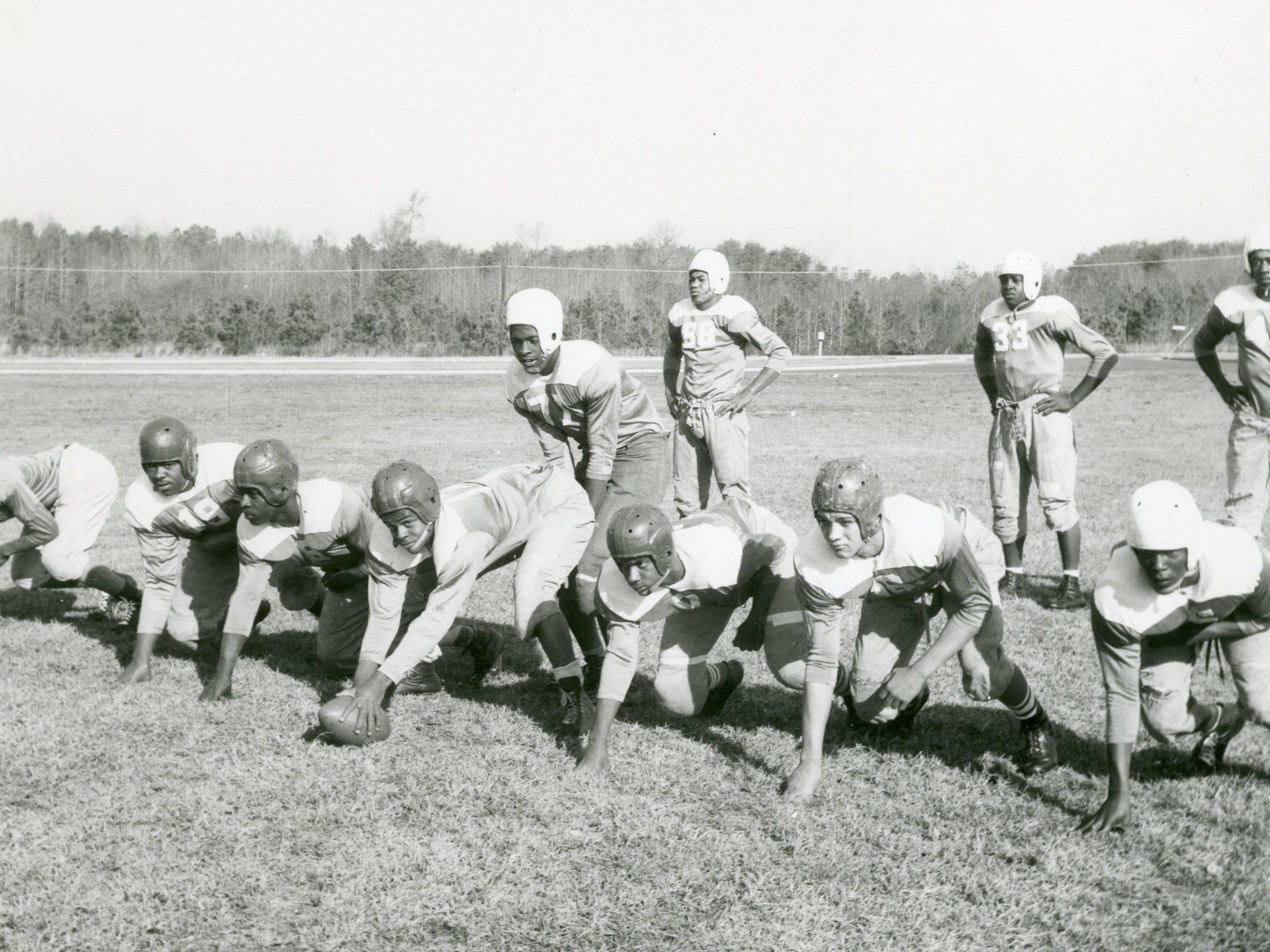 The William C. Jayson High School in Georgetown football team.