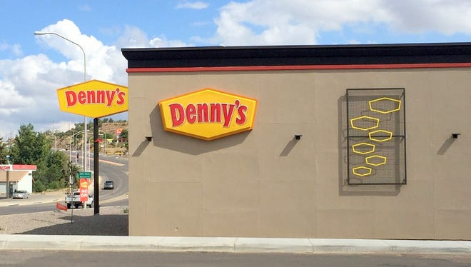 Denny's will be shut down for a few days because of a small electrical fire that started in the ceiling. The cause was determined from one of the outdoor lit signs, according to the Silver City Fire Department.