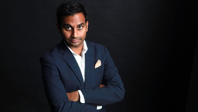 Aziz Ansari, 32, writes and stars in dramatic comedy series 'Master of None,' now streaming on Netflix.