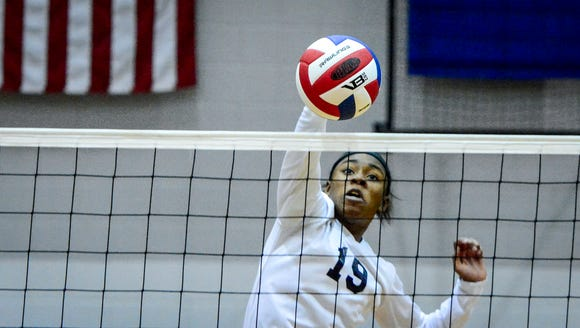 Tesia Thomas excelled on the volleyball court for West