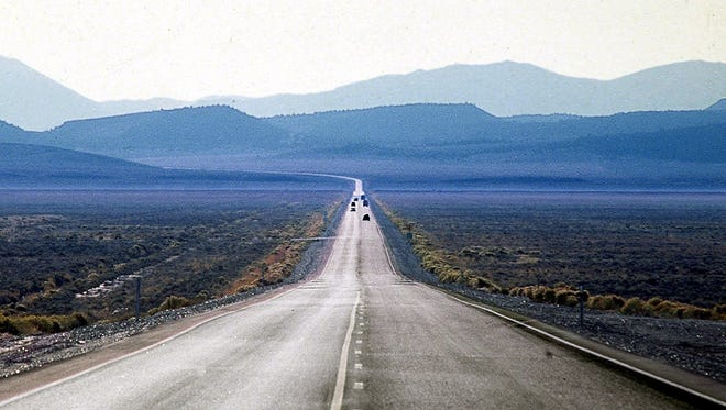 """U.S. Highway 50 through Nevada is known as """"The Loneliest Road in America."""""""