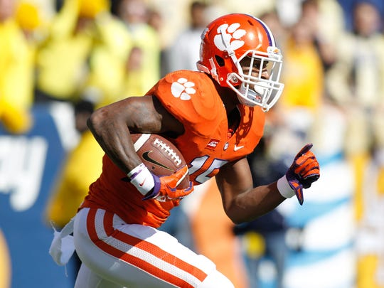 Indianapolis Colts' second-round pick: Clemson safety T.J. Green.