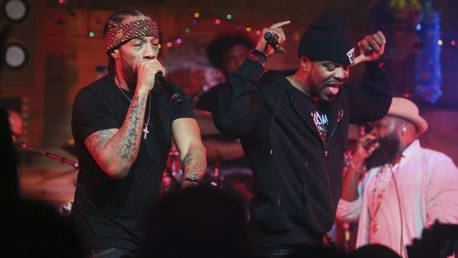 Redman (left) and Method Man, pictured during the South by Southwest Music Festival on March 18, 2017, in Austin, Texas.
