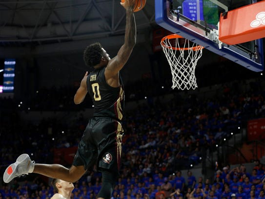 With Monday night's victory, Florida State senior forward