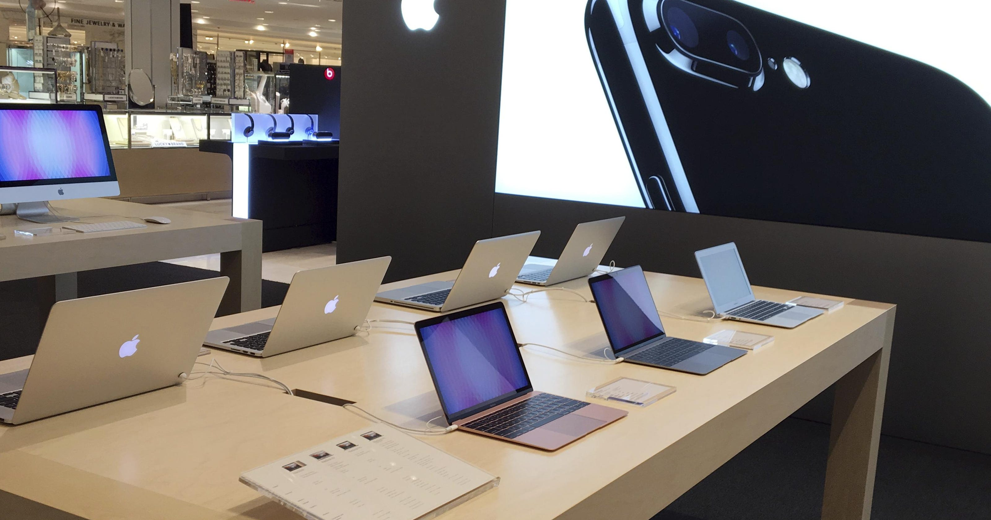 5c0048f803866 Macy s flagship in New York debuts Apple shop