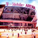 Artist rendering of T-Mobile Arena.