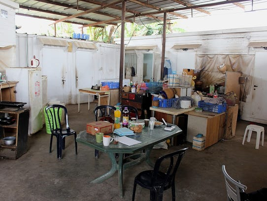 Living quarters of Thai agricultural workers are often