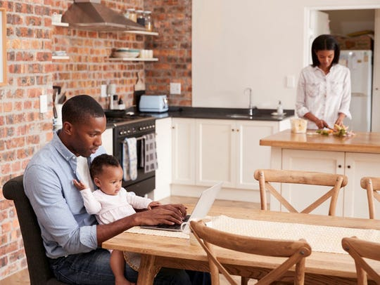 Families will love that black stainless-steel appliances