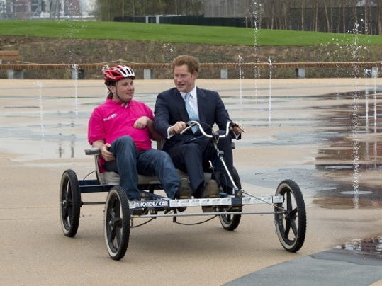 England's Prince Harry Gives Boost To Local Company