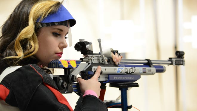 The JROTC Nationals is an air rifle event for both sporter and precision athletes who fired in the accompanying Postal and Regional events.