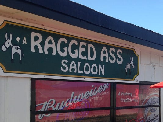 The Ragged Ass Saloon