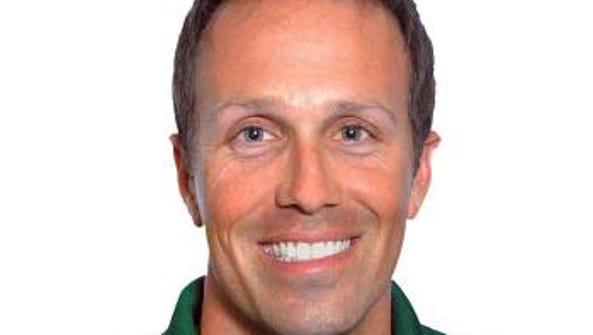 Matt Hill is ASU's new men's tennis coach, leaving
