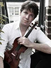 Wednesday: Joshua Bell at the McCallum Theatre.