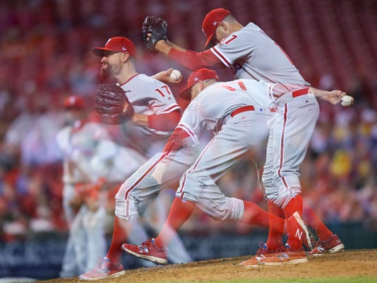 MLB: Philadelphia Phillies at Cincinnati Reds