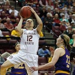 Seminoles roll past Leathernecks in first round
