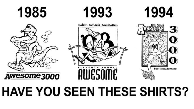 Missing Awesome 3000 t-shirts.
