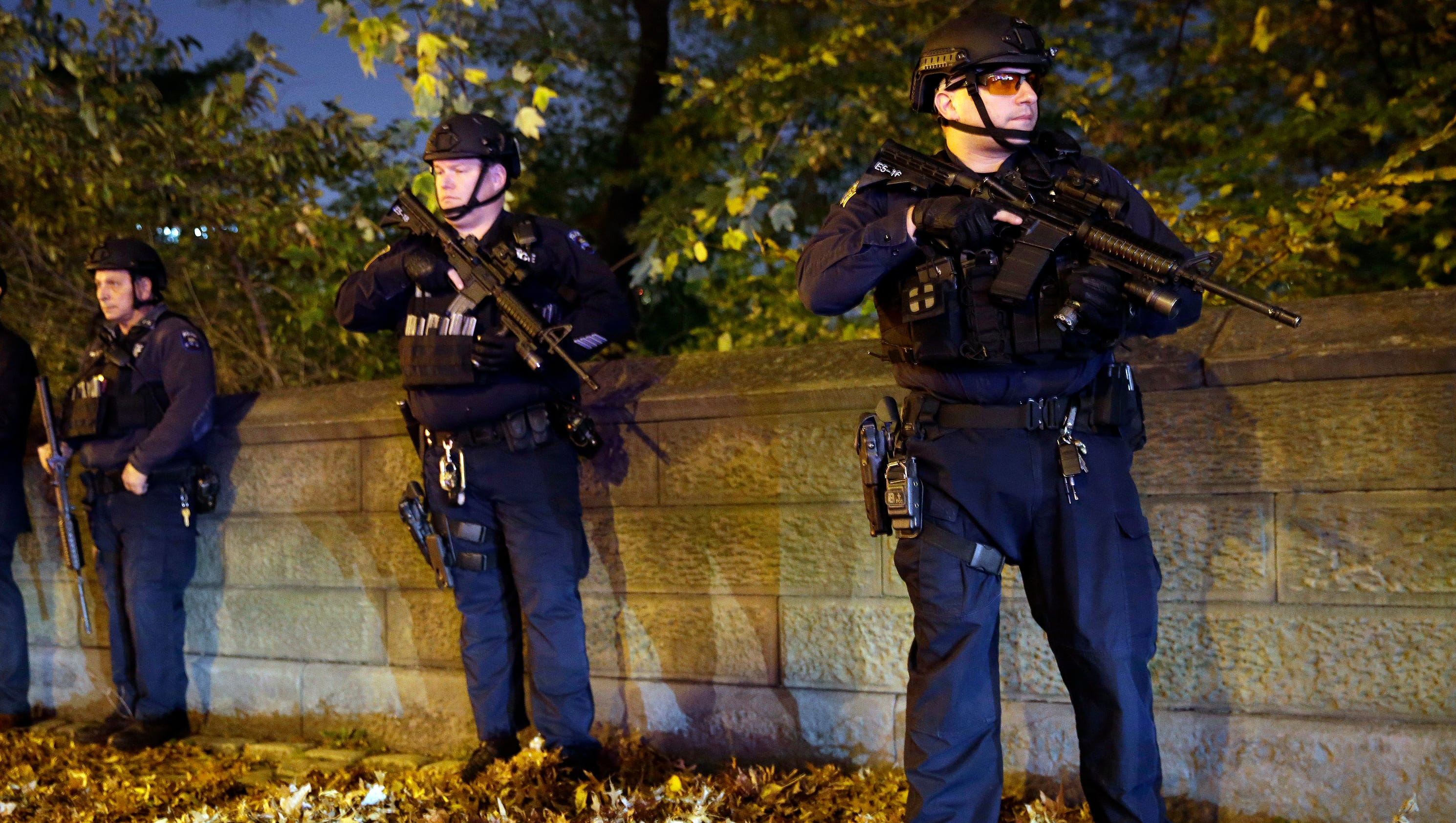 u s cities step up security in wake of paris attacks. Black Bedroom Furniture Sets. Home Design Ideas