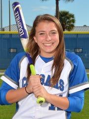 Ashley Hayes, Barron Collier softball