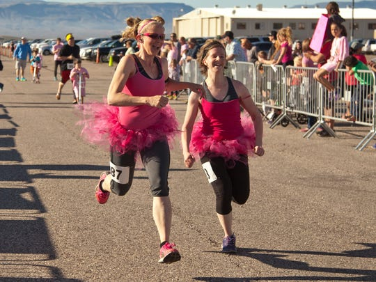 The inaugural Hog and Jog 5k gives runners bacon-themed
