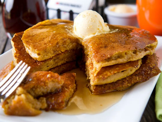 The original pancakes are just the start at NCounter in Tempe. Diners can further customize their order with one or more toppings such as blueberries, fresh strawberries and whip cream, or order the apple cinnamon pecan or banana walnut griddle cakes.