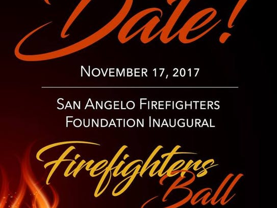 The first San Angelo Firefighters Ball is slated for