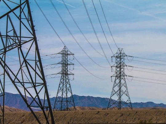The Imperial Irrigation District's Path 42 power lines