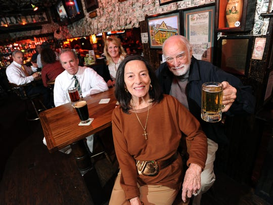 Molly McGuire Martin opened McGuire's Irish Pub with her husband in 1977.