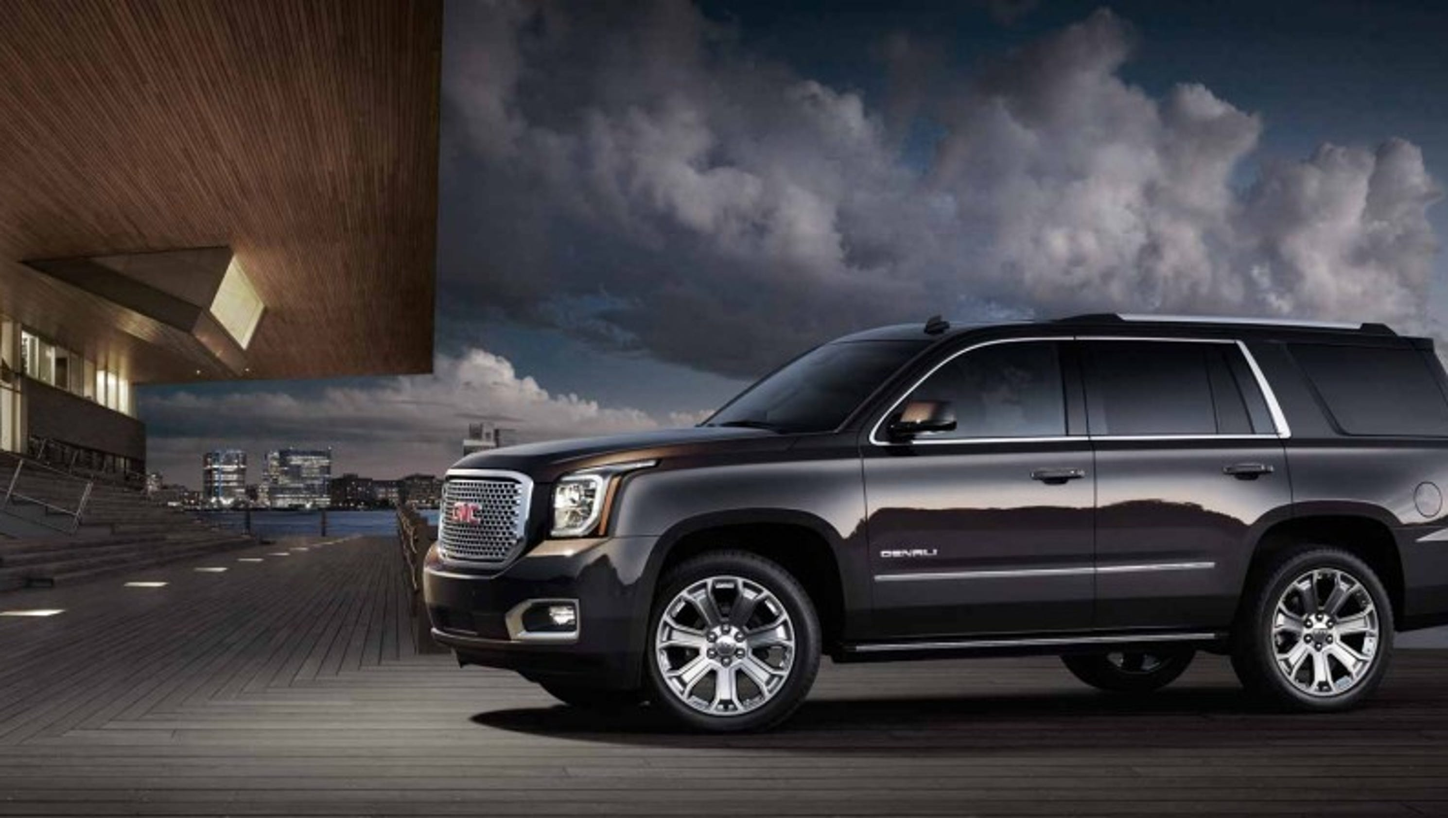 yukon strut for the collection grille denali debuts gmc