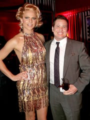 Courtney Act with Chaz Bono