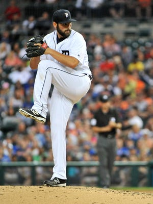 Tigers pitcher Michael Fulmer