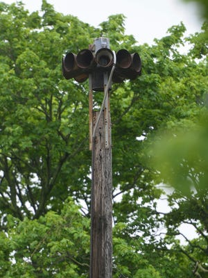 Wrightsville's borough council and fire chief are at odds about whether a fire siren at Fourth and Hellam streets is too loud. (John A. Pavoncello photo)