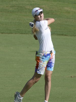 Alden Wallace won the Division II girls state title on Tuesday.
